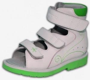 детская высокая ортопедическая обувь