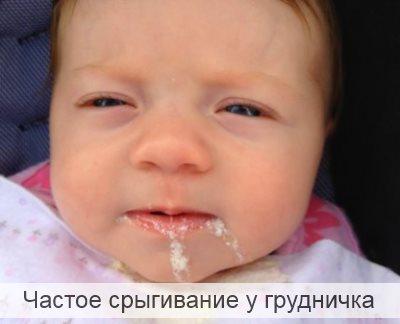 Частое срыгивание у грудничка Комаровский
