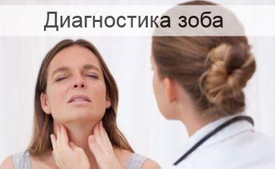 диагностика зоба