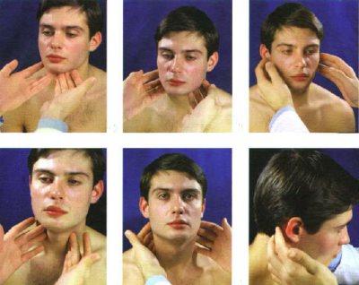 пальпация лимфатических узлов